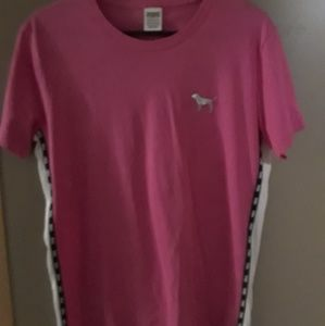 Vs Pink Bling Campus Tee
